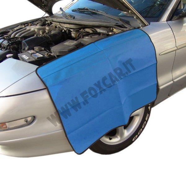 Telo protettivo magnetico foxcar for 2 box auto con officina e soppalco