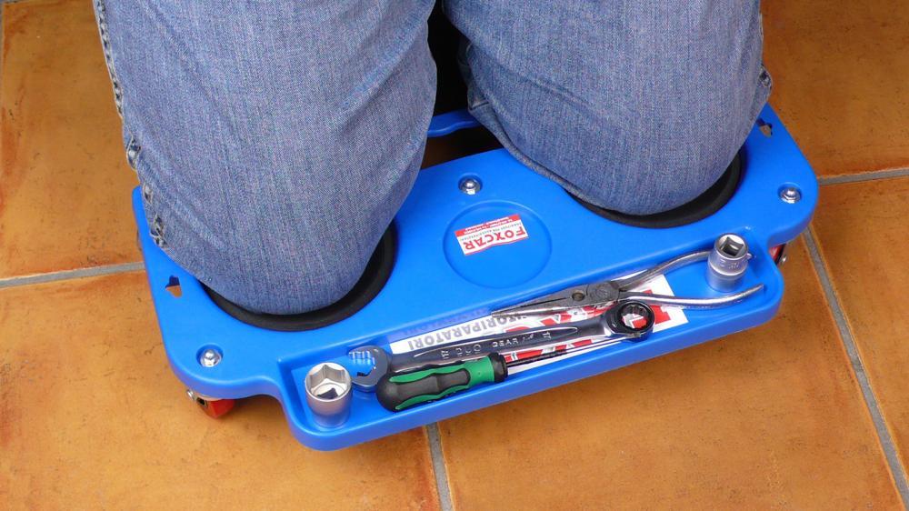 Inginocchiatoio con ruote foxcar - Scuola per piastrellisti ...