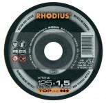 Disco da taglio Rhodius per alluminio, spessore 1,5 mm e diametro 115 ...