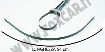Fascetta in acciaio di ricambio chiave filtro olio A547
