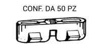 Graffetta fissaggio modanatura canalina tetto montata su Fiat e Lancia...