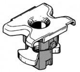 Fissaggio parafango anteriore parte inferiore Fiat Tipo e derivate