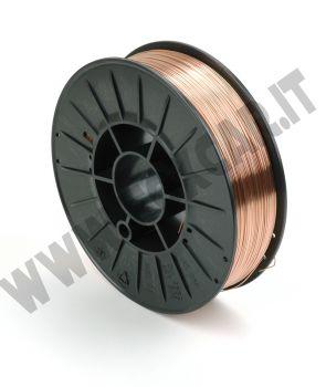 Filo saldatura acciaio con diametro 0,6 mm