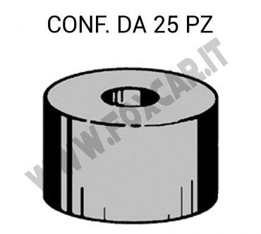 Gommino distanziale altezza 12 mm e diametro interno da 6 mm
