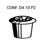 Boccola fissaggio scritte su Fiat vari modelli