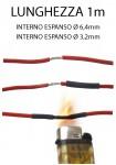 Guaina termorestringente diametro da 6,4 mm a 3,2 mm