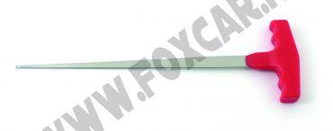 Passafilo flessibile a T per filo da taglio parabrezza