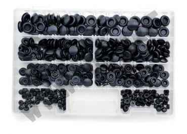 Kit di 350 gommini copriforo di vari diametri per la chiusura dei fori sulla carrozzeria
