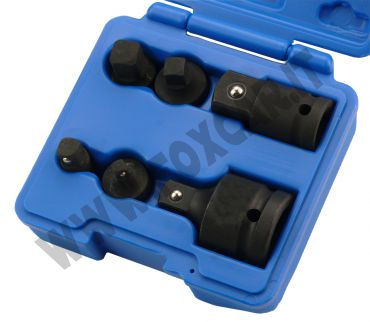 Serie 6 adattatori per chiavi a bussola