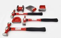 Kit riparazione carrozzeria completo di martelli e tassi