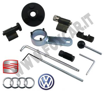 Attrezzi messa in fase per Audi, Seat e Volkswagen 1.6 2.0 TDI