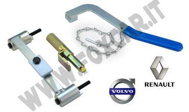 Attrezzi messa in fase per Renault e Volvo 2.0 e 2.5V