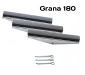 Pietre di ricambio per levigatore smeriglia cilindri grana 180