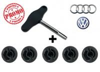 Kit rimozione tappo coppa olio in plastica per Audi e Volkswagen compl...