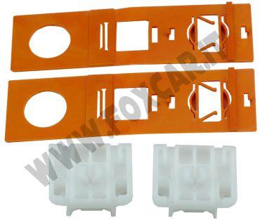 Kit pattino in plastica per riparare il meccanismo alzacristalli sia DX che SX Audi   A3 2008 e 2013