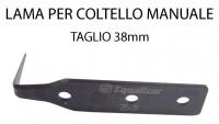 Lama per coltello manuale per taglio sigillante parabrezza 38 mm