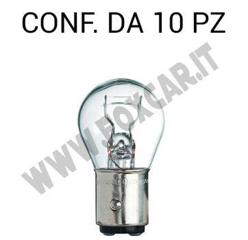 Lampadina a 2 filamenti 12 volt 5/21 Watt