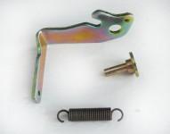 Levetta riparazione serratura sinistra Fiat Uno tre porte con molla e ...