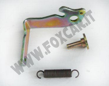 Levetta riparazione serratura sinistra Fiat Uno tre porte con molla e ribattino