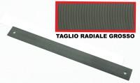 Lima da carrozziere taglio radiale grosso di 350 mm