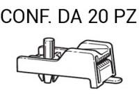 Madrevite per il fissaggio dei pannelli porta e rivestimenti su Ford F...