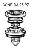 Bottone molletta fermapannello porta per Audi A5, A4, Q5, Q7, VW Caddy...
