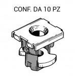 Madrevite in plastica e ferro per fissaggio parafango su Fiat e Lancia...