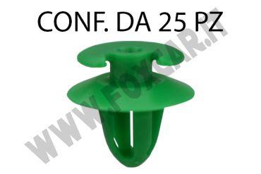 Bottone fermapannello porta di colore verde per Bmw vari modelli