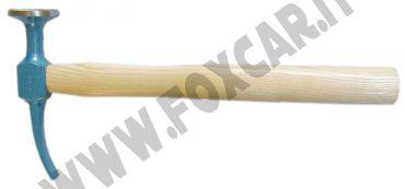 Martello Picard testa tonda di diametro 40 mm e penna curva