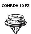 Bottone fermapannello e fissaggio modanature cornici parabrezza su Cit...