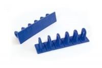 Multiventosa composta da 6 unita separabili di colore blu