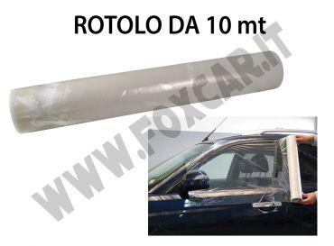 Pellicola nylon autoadesiva trasparente per la chiusura dei vetri