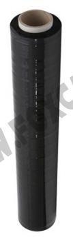 Bobina di film estensibile nero da 4 Kg altezza 500 mm