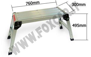 Piattaforma di sicurezza in alluminio per carrozzeria