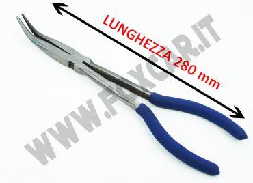 Pinza extra lunga a 45° lunghezza 280 mm