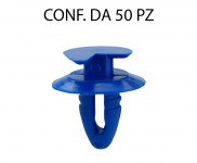 Bottone fermapannello porta in plastica per Fiat, Lancia, Alfa Romeo