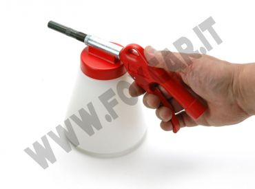 Pistola sabbiatrice professionale per piccoli lavori di sabbiatura