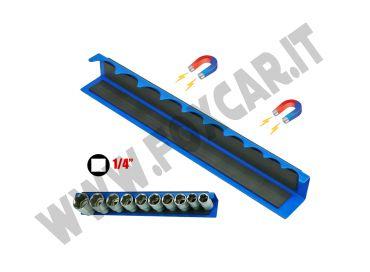 Supporti magnetici porta bussole per chiavi da un quarto di pollice
