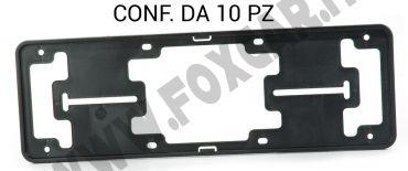 Porta targa anteriore in plastica PS