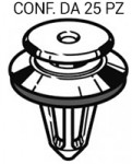 Bottone in plastica fermapannelli e paraurti per Fiat Peugeot Citroen ...