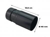 Manicotto in plastica tipo fisso di diametro 40 mm per aspirapolvere