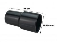 Manicotto in gomma di diametro 40 mm di lunghezza 10 cm per aspirapolv...