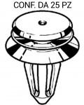 Bottone in plastica per fermapannello porta su Volkswagen Lupo e Seat ...