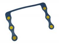Ricambio magnetico per porta targa prova