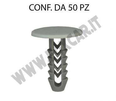 Bottone in plastica per Fiat Iveco vari modelli testa Ø 20 mm per foro da 6,5 mm