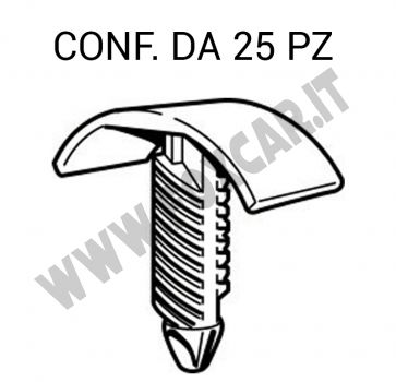 Bottone fissaggi vari per Alfa, Lancia, Fiat