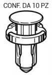Rivetti con perno per rivestimenti su Honda e Nissan Ø testa 18 mm pe...