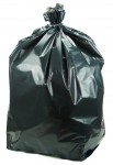 Sacchi neri per immondizia misure 90 x 120 cm, spessore 80 micron, con...