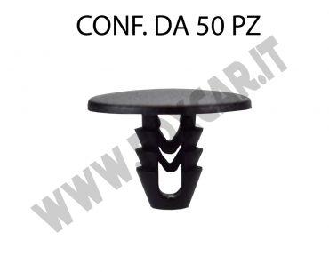 Bottone fissaggio rivestimenti interni e cofano anteriore per Fiat