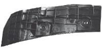Staffa destra paraurti posteriore Peugeot 107 e Citroen C1